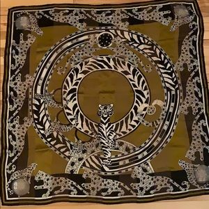 Must de Cartier silk scarf vintage